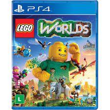 Lego Worlds Ps4 Mídia Digital Primária Vip