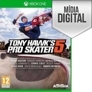 Tony Hawk's Pro Skater 5 Xbox One Mídia Digital