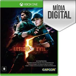 Resident Evil 5 Xbox One Mídia Digital