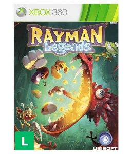 Rayman  Legends Xbox 360 Código 25 Dígitos Mídia Digital