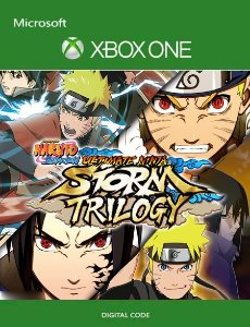 NARUTO SHIPPUDEN Ultimate Ninja STORM Trilogy Xbox One Mídia Digital