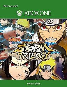 NARUTO SHIPPUDEN Ultimate Ninja STORM Trilogy Xbox One Mídia Digital