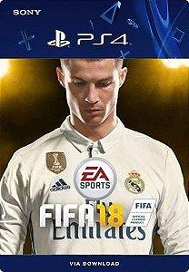 FIFA 18 PS4 PRÉ VENDA PORTUGUÊS MÍDIA DIGITAL