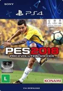 PES 2018 - PRO EVOLUTION SOCCER 2018 PS4 MÍDIA DIGITAL