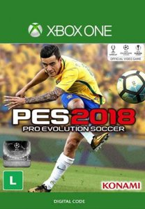 PES 2018 - PRO EVOLUTION SOCCER 2018 XBOX ONE MÍDIA DIGITAL