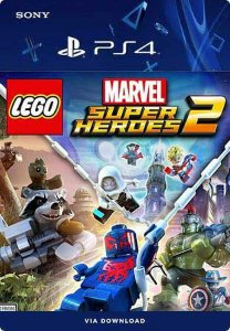 LEGO Marvel Super Heroes 2 Ps4 Mídia Digital