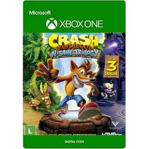 Crash Bandicoot  N. Sane Trilogy Xbox One Midia Digital