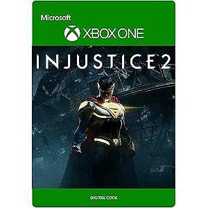 Injustice 2 Edição Lendária  Xbox One Mídia Digital