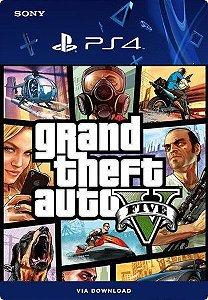 GTA 5 - Grand Theft Auto V PS4  Mídia Digital