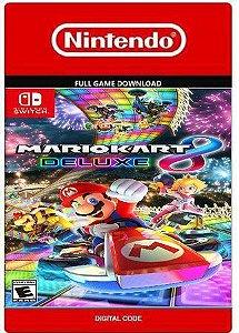 Mario Kart 8 Deluxe Nintendo Switch Código Digital 16 Digitos Eshop