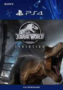 Jurassic World Evolution Ps4 Mídia Digital