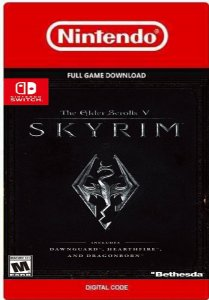 THE ELDER SCROLLS V: SKYRIM US NINTENDO SWITCH CÓDIGO DIGITAL ESHOP