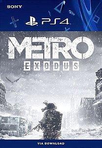 Metro Exodus Ps4 Mídia Digital