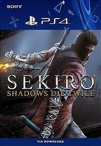 Sekiro: Shadows Die Twice Ps4 Mídia Digital Original