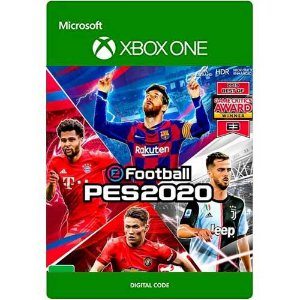 PES 2020 Pro Evolution Soccer 20 Xbox One Mídia Digital