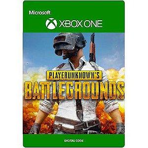Playerunknown's Battlegrounds - Xbox One - Código 25 Dígitos