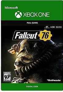 Fallout 76  Xbox One Mídia Digital Código 25 Dígitos