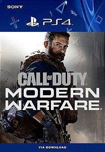 Call of Duty: Modern Warfare PS4 Mídia Digital