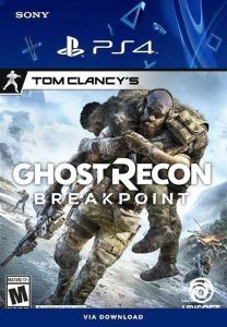 Tom Clancy's Ghost Recon Breakpoint Ps4 Mídia Digital