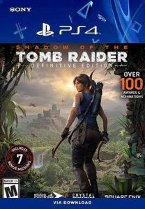 Shadow of the Tomb Raider Definitive Edition Ps4 Midia Digital