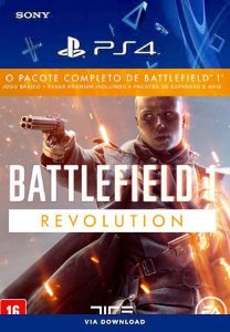 Battlefield 1 Revolution Ps4 Midia Digital