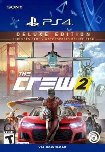 The Crew 2 Deluxe Edition Ps4 Mídia Digital