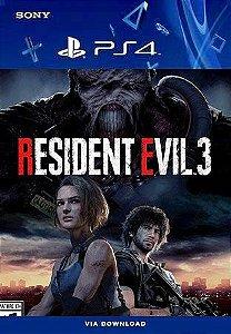 Resident Evil 3 Ps4 Mídia Digital
