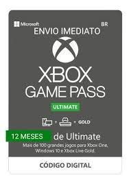 Xbox Game Pass Ultimate 12 Meses Microsoft