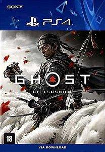 Ghost of Tsushima Ps4 Mídia Digital