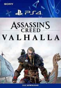 Assassin's Creed Valhalla Ps4 Mídia Digital