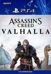 Assassin's Creed Valhalla Ps4 Mídia Digital