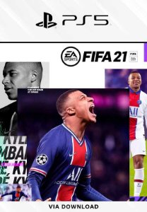 FIFA 21 PS5 Mídia Digital