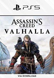 Assassin's Creed Valhalla PS5 Mídia Digital