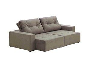 Sofá Retrátil e reclinável com Molas Bonel Modelo LV06RR com 2 metros e várias opções de tecidos e cores. Produzimos também sob medida. Lv Estofados