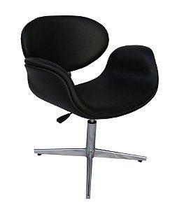 Cadeira Tulipa Modelo LV25BC4 com base em alumío e regulagem de altura Lv Estofados.