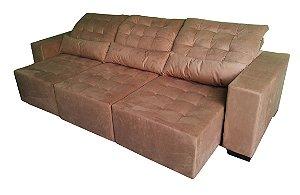 Sofá Retrátil e reclinável produzido sob medida. Várias Opções de cores. Modelo LV111RR