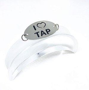 Pulseira motivacional pra dançar - I Love Tap