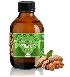 Óleo de Amêndoas Doces - hidrata, amacia, previne rugas e melhora a elasticidade.