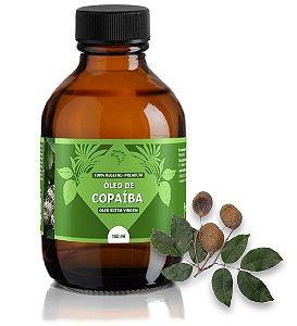 Óleo de Copaíba - antisséptico, anti-inflamatório, combate o reumatismo e dores musculares.