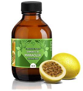 Óleo de Semente de Maracujá - relaxante, calmante, hidratante, regenerador celular e emoliente.