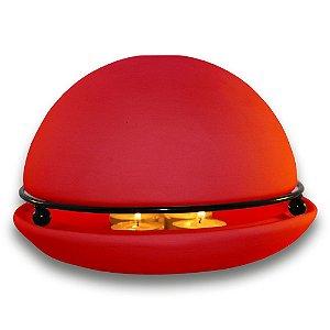 Good Life - Vermelho - Aromatizador e Aquecedor de ambientes. Grátis 1 óleo essencial de Laranja Doce!