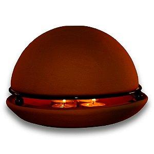 Good Life - Marrom - Aromatizador e Aquecedor de ambientes. Grátis 1 óleo essencial de Laranja Doce!