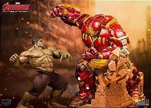 Iron Studios Age Of Ultron Hulk Vs Hulkbuster 1/6 Diorama