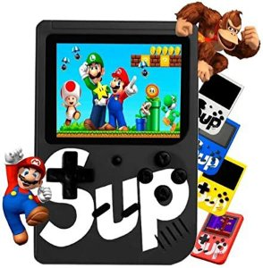 Video Game Portatil - 400 Jogos Internos - Mini Game Sup Game Box Plus