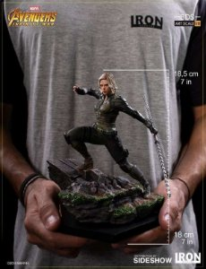 Viúva Negra (Black Widow): Vingadores Guerra Infinita Art Scale 1/10 - Iron Studios