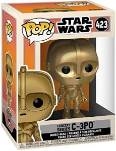Funko Pop! C-3PO: Star Wars Concept Series #423