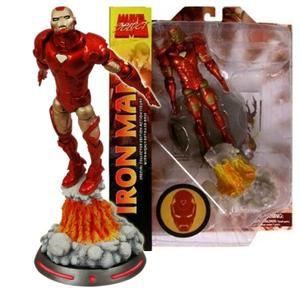 Boneco Homem de Ferro (Iron Man) Voando: Marvel Select