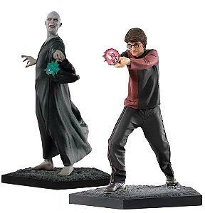 Combo Estatuas Harry Potter + Voldemort - Bds Art Scale 1/10 - Iron Studios