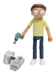 Funko Rick And Morty - Morty Boneco Articulado 13cm
