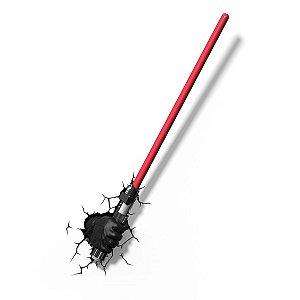 Luminária- Sabre de Luz-  Darth Vader